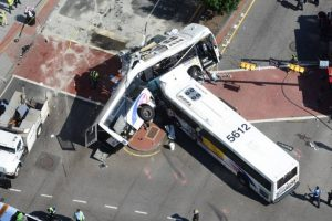 Bus_Broadsides_Another_Bus_In_Newark_New_Jersey