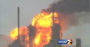 Convent_Louisiana_Motiva_Oil_Refinery_Fire_8_11_16